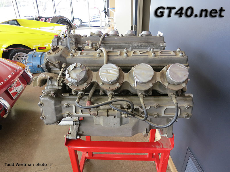 Ford Gt  Indy Engine