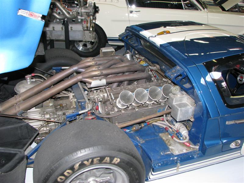 Ford GT40 4 cam 255 indy engine | GT40 Archives