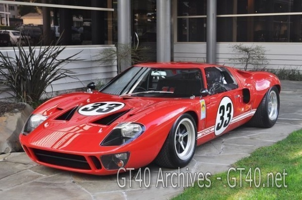 GT40 P/1033 is for sale