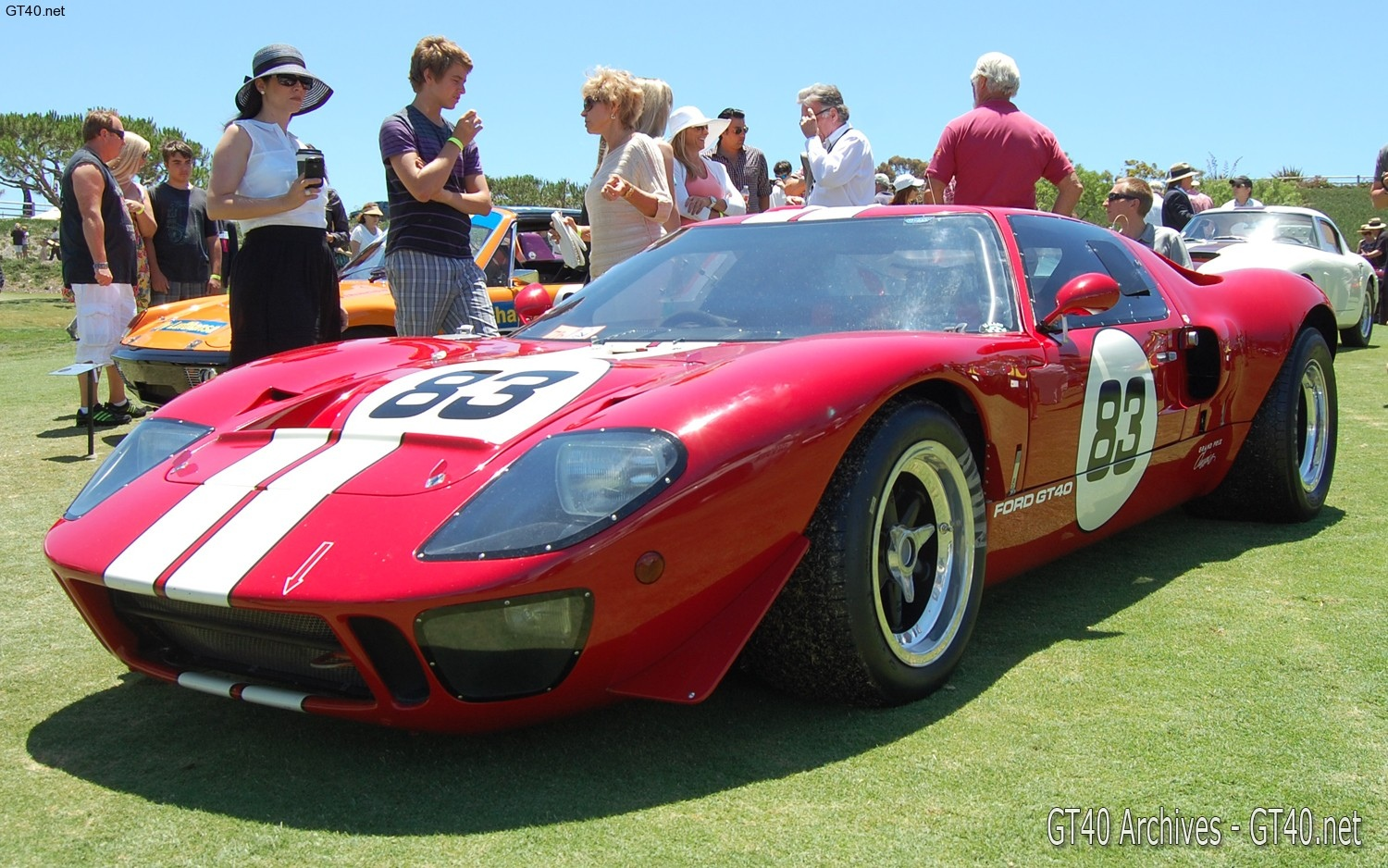 1969 ford gt40 red gt40 archives. Black Bedroom Furniture Sets. Home Design Ideas