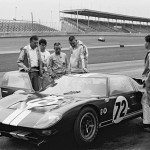 Shelby American Ford GT40 chassis number GT 104 at Daytona 1965